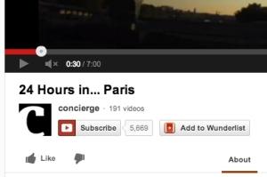 Wunderlist YouTube button