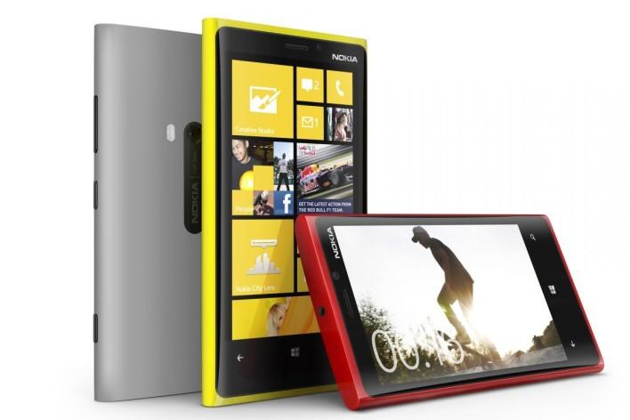Lumia 920 colors