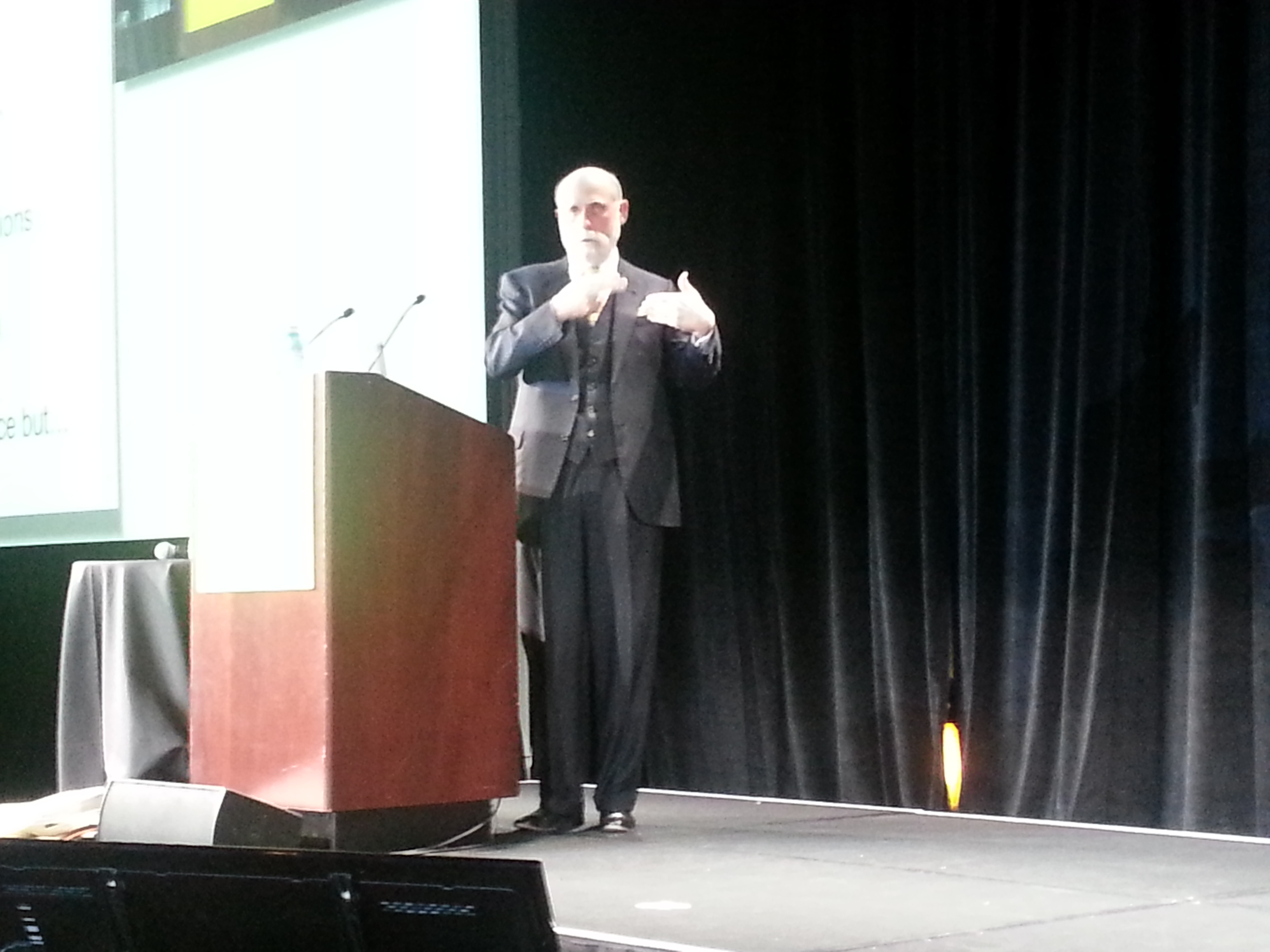 Vint Cerf at ONS