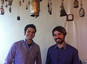 Asana founders Dustin Moskovitz and Justin Rosenstein