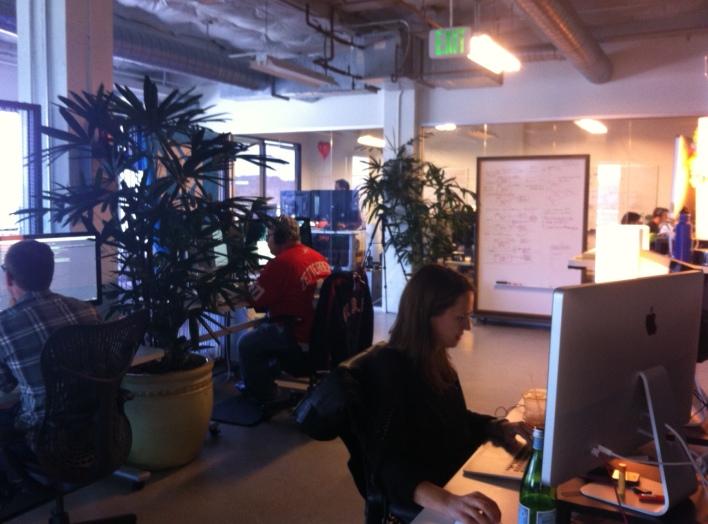 The Asana office in San Francisco.