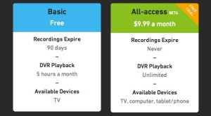 Boxee's Cloud DVR now comes with a limited free service tier.