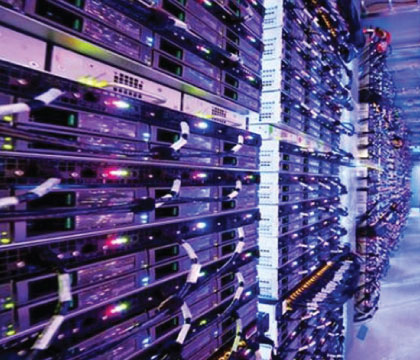 Microsoft's Chicago data center is one of eight worldwide.