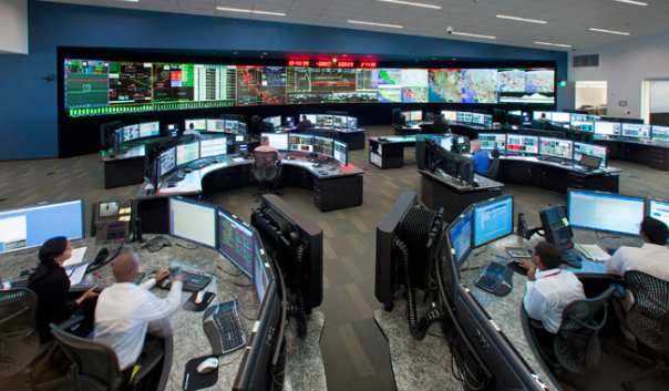 One of California ISO's massive control rooms