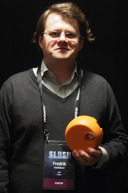 Enevo CEO Fredrik Kekalainen