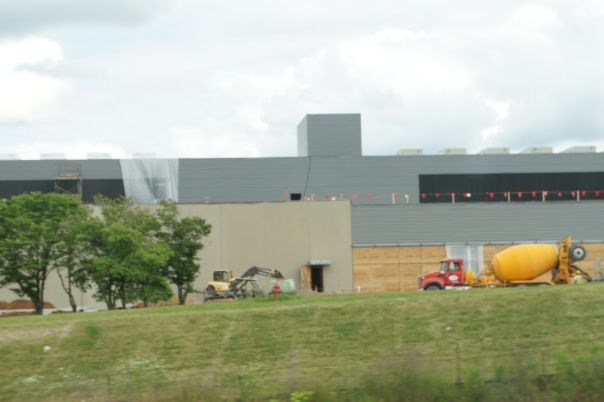 Facebook's Forest City, North Carolina data center.