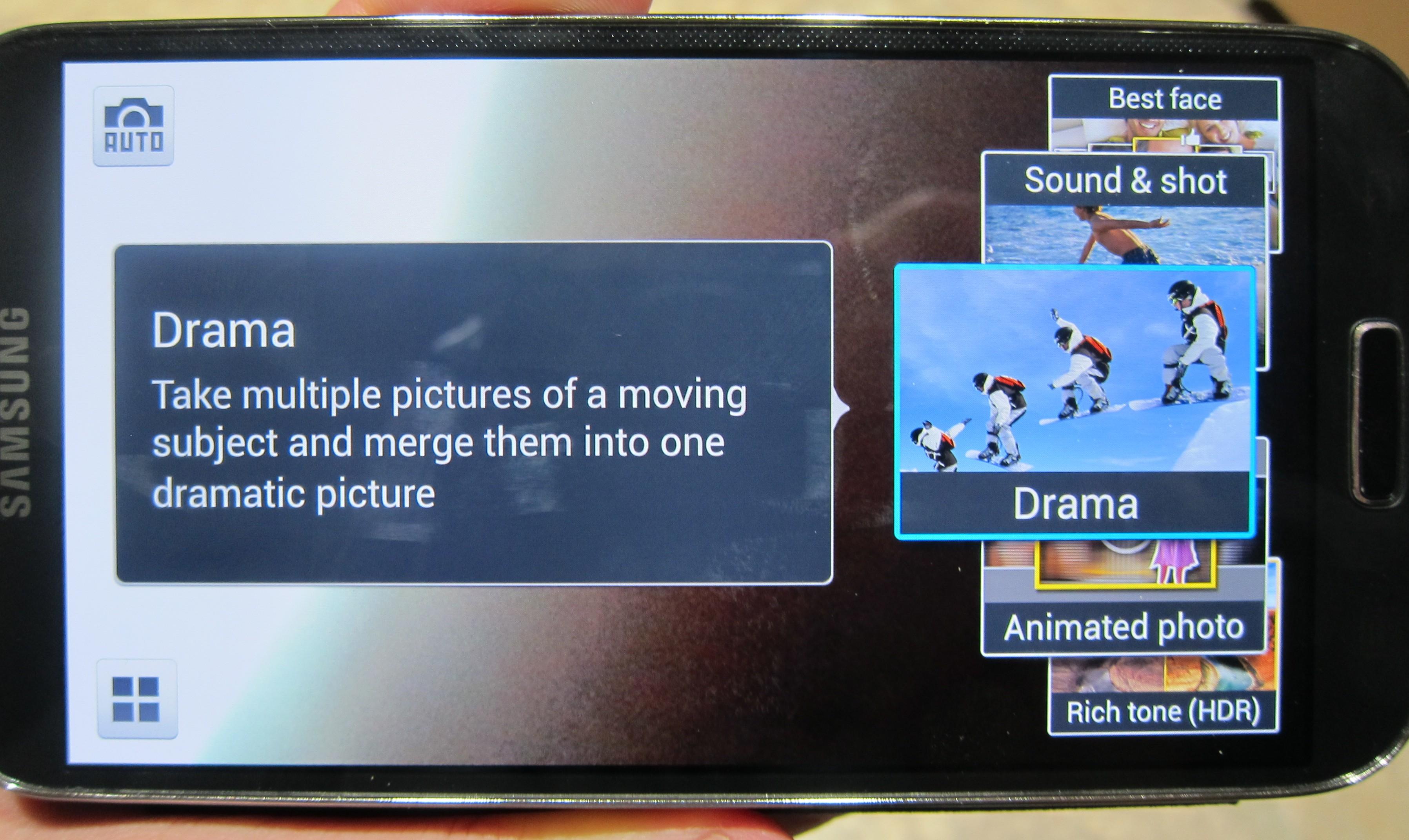 Galaxy S 4 Drama