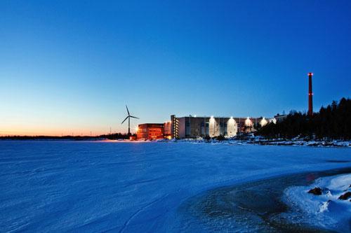Google Hamina data center, Finland