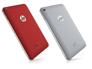 HP Slate 7 in red and gray