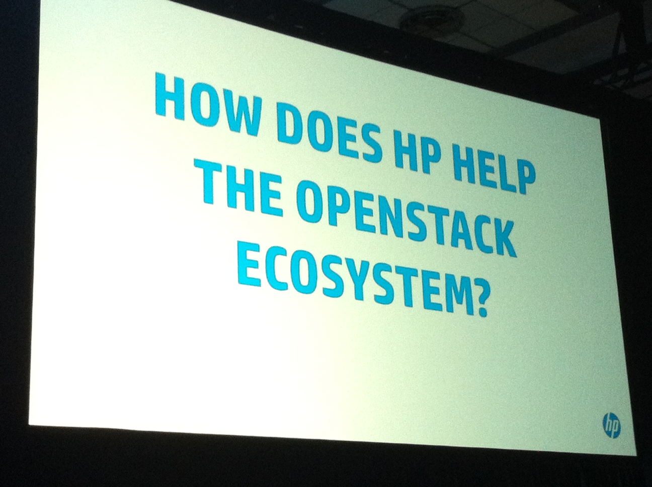 HP_OpenStack Summit 2013