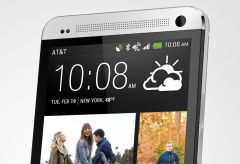 HTC One silver featured