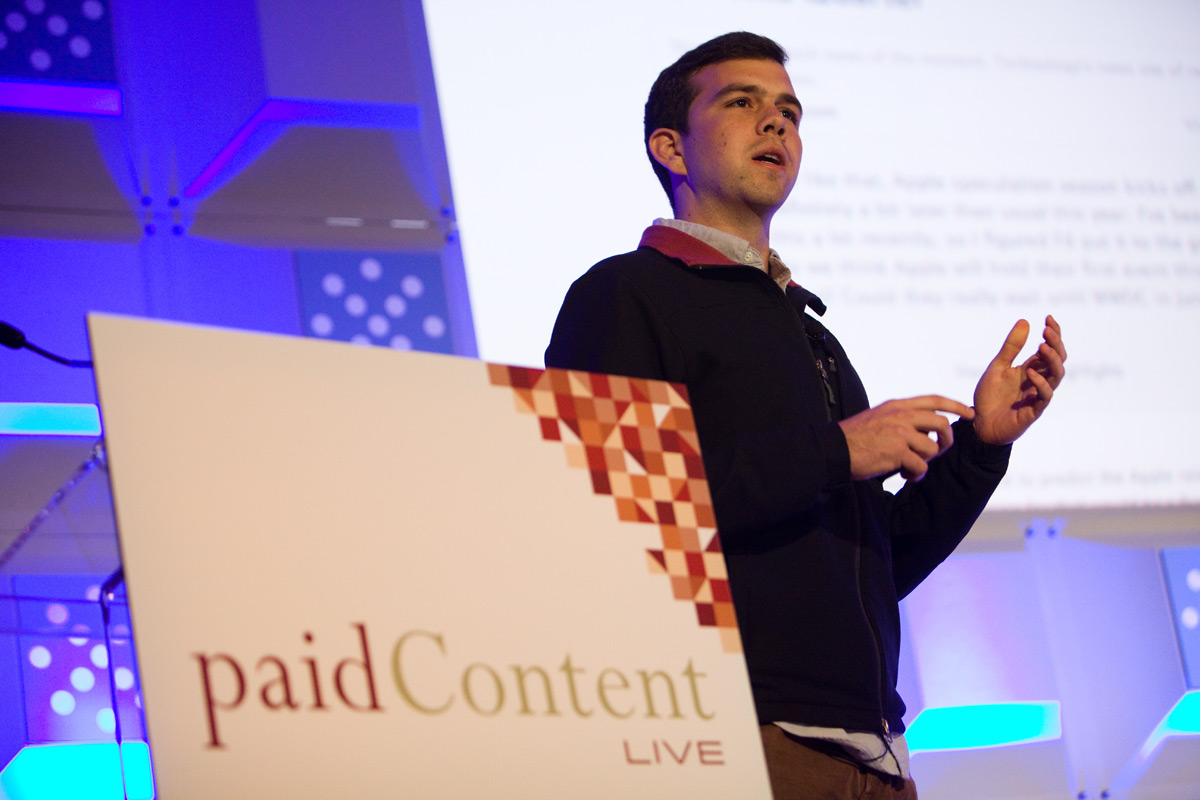 paidContent Live 2013 Josh Miller Branch