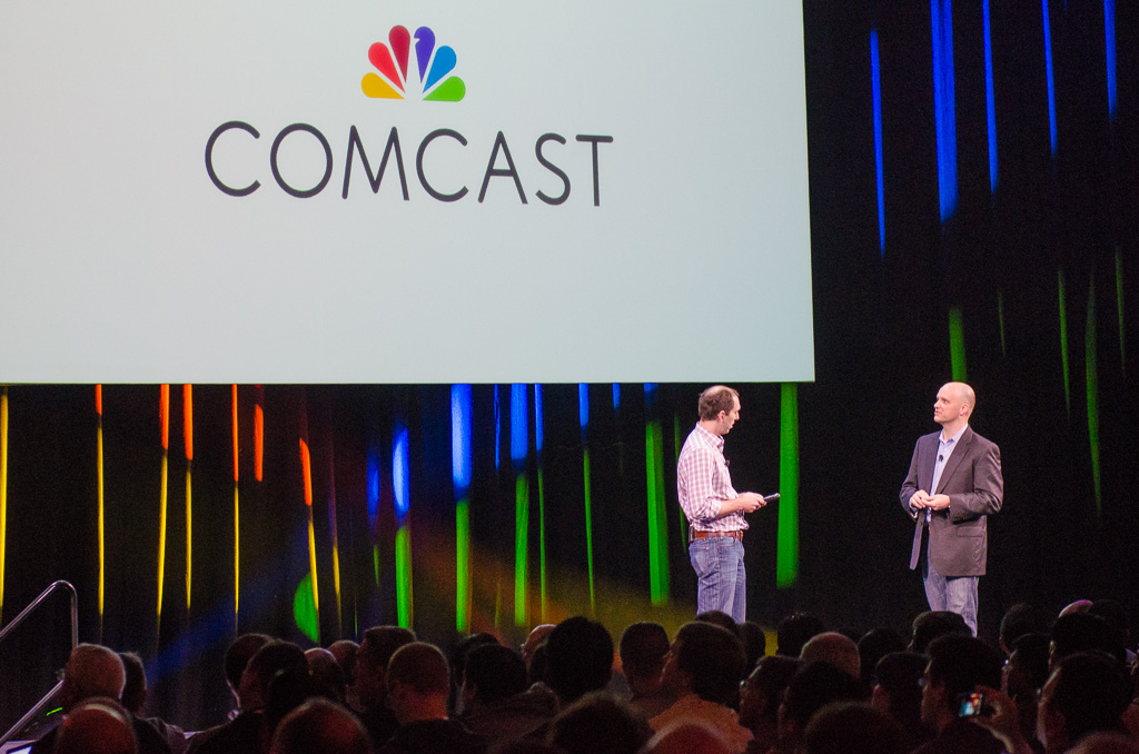 Mark Muehl, Comcast SVP of product engineering at OpenStack Summit.
