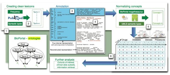 How Shah's team developed its patient-feature matrix