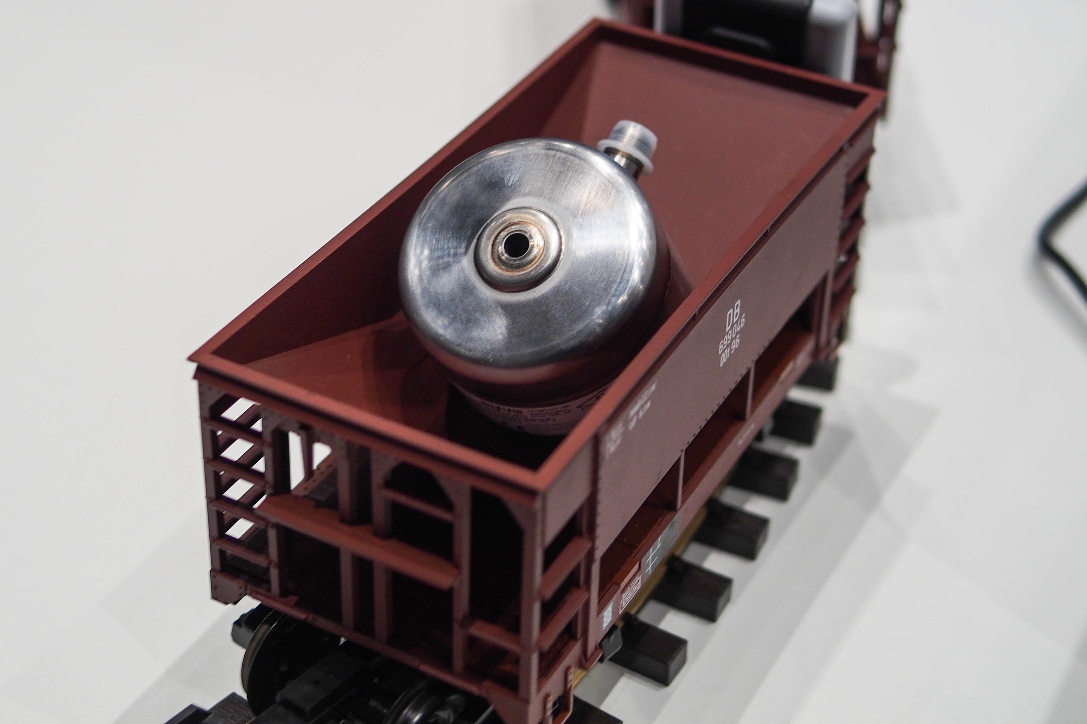 Perpetuum train sensor