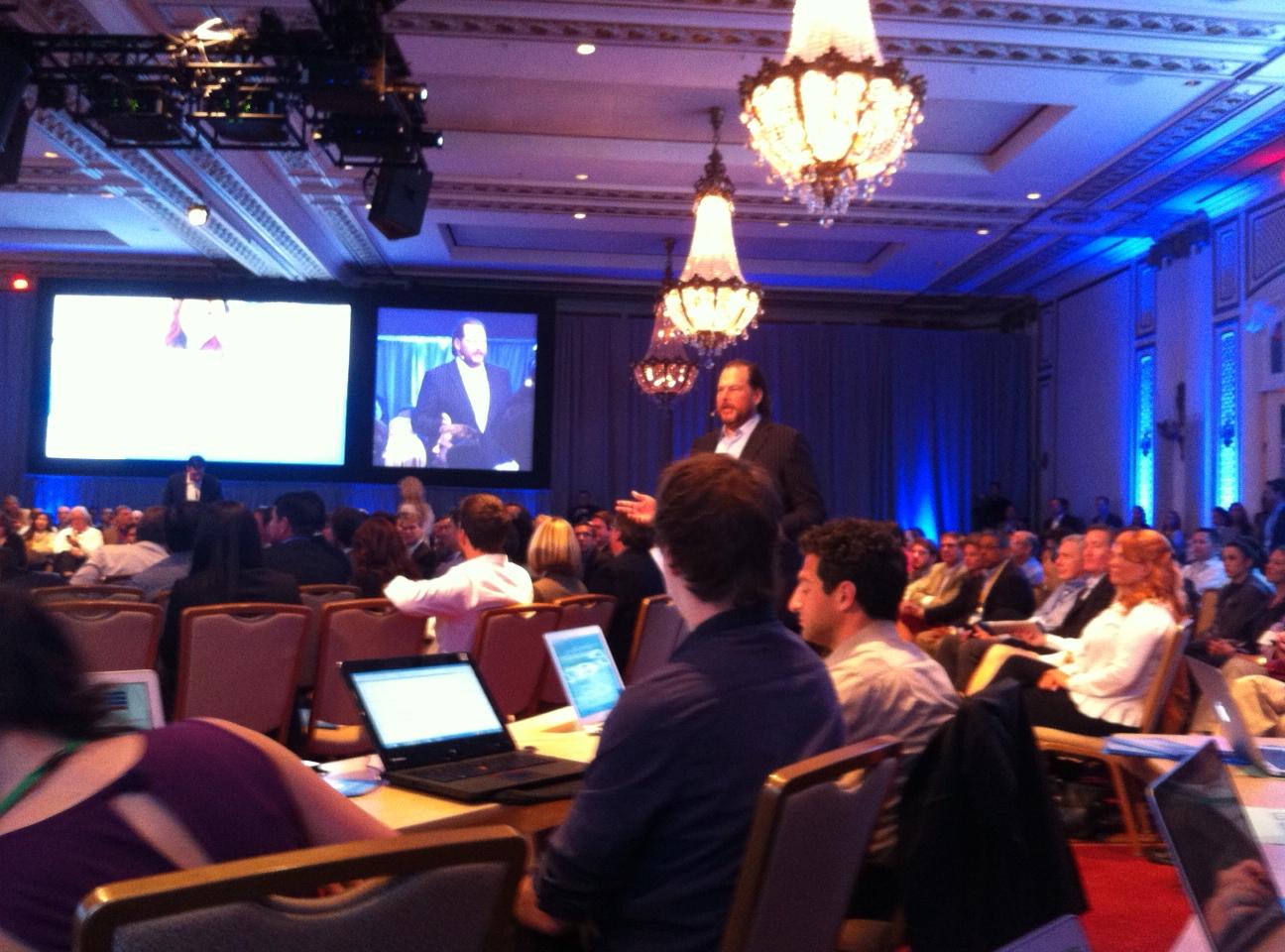Salesforce.com CEO Marc Benioff