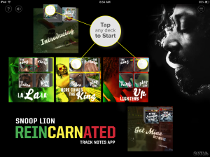 Snoop Lion Reincarnated app
