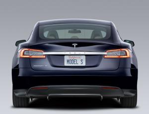 Tesla Model S, image courtesy of Tesla.