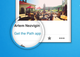 Twitter Path app discovery platform