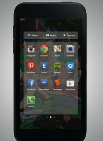 Facebook Android Home app launcher