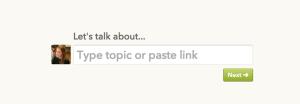 Branch start a comment screenshot image