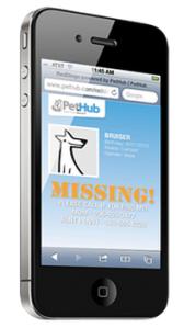 PetHub NFC lost dog