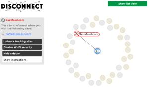 Disconnect visual screenshot