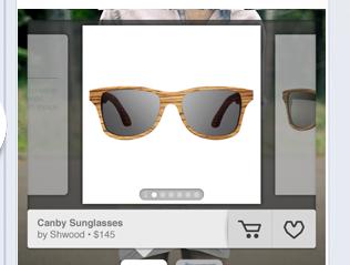 social shopping screenshot