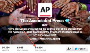 AP Twitter screenshot