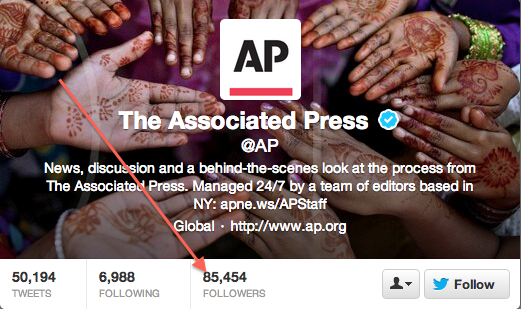 AP Twitter screenshot