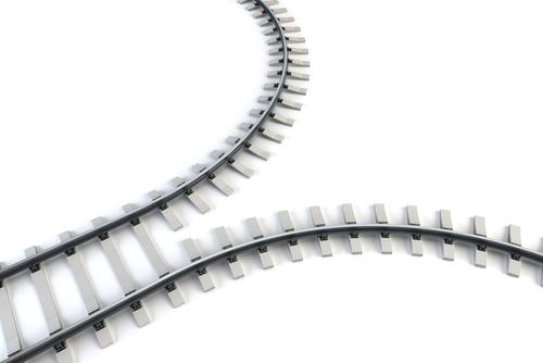 diverging tracks