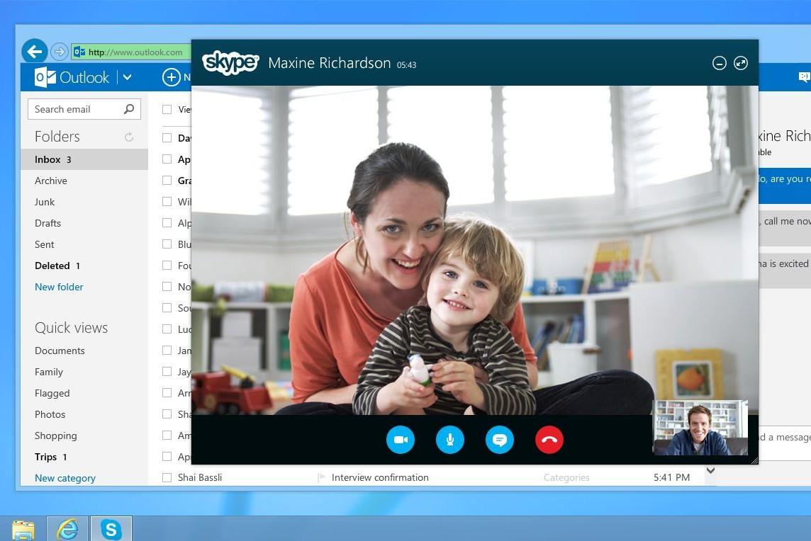 Skype in browser