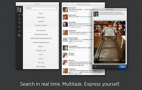 Twitter for Mac (Version 2.2)