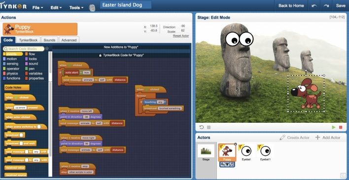 Tynker in the News: GigaOm: From animated animals to