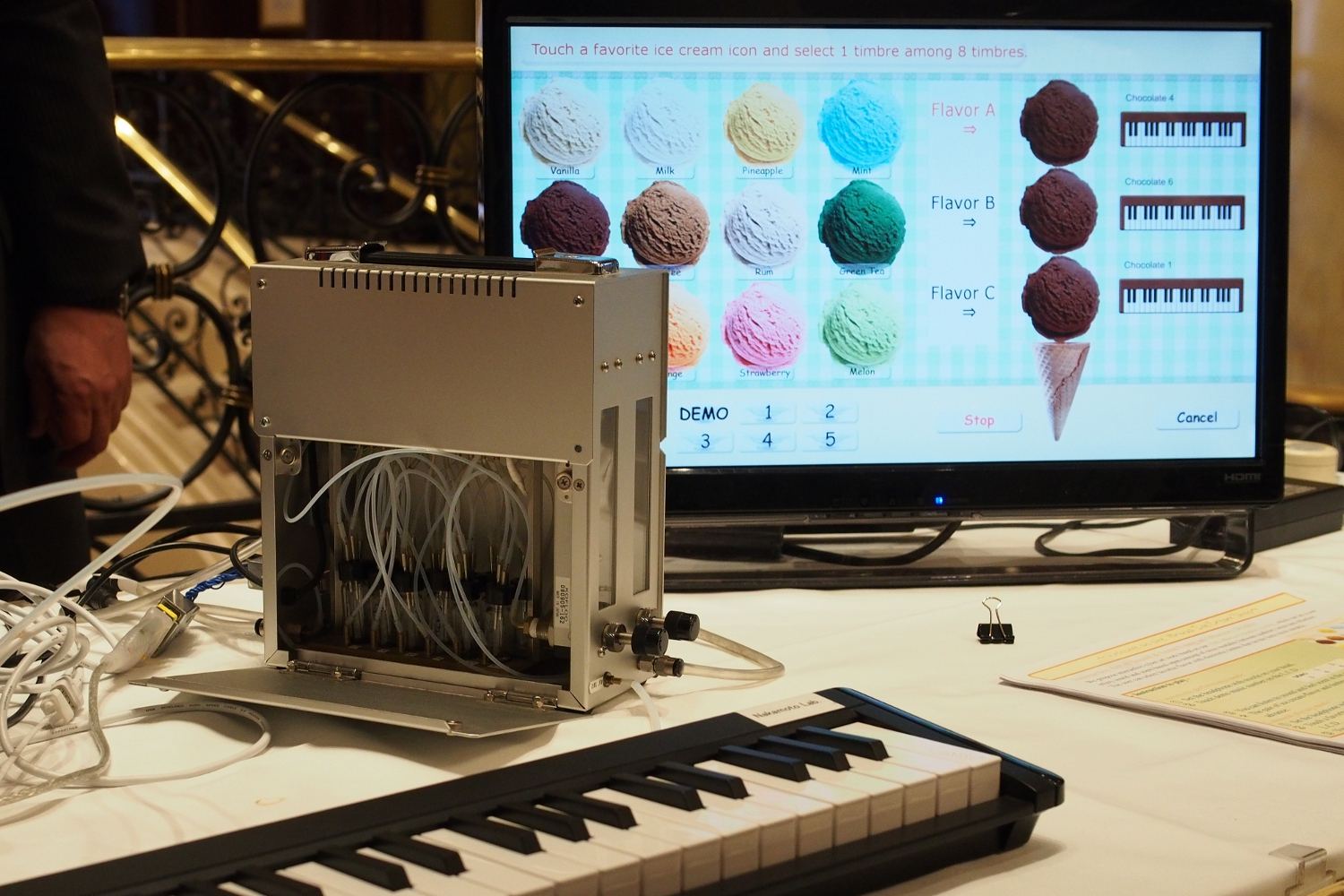 Takamichi Nakamoto's Virtual Ice Cream Shop