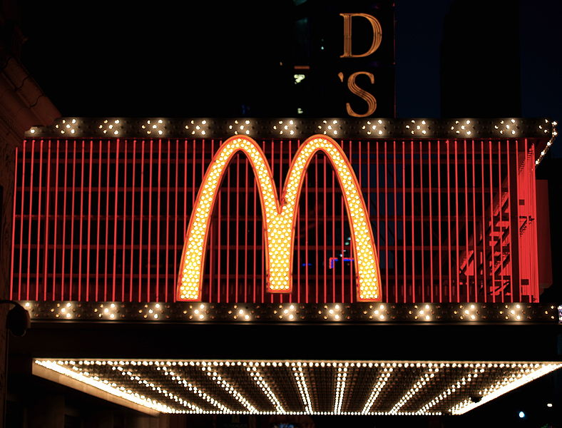 AWS, like McDonald's, is the undisputed champion. Source: Wikipedia Commons