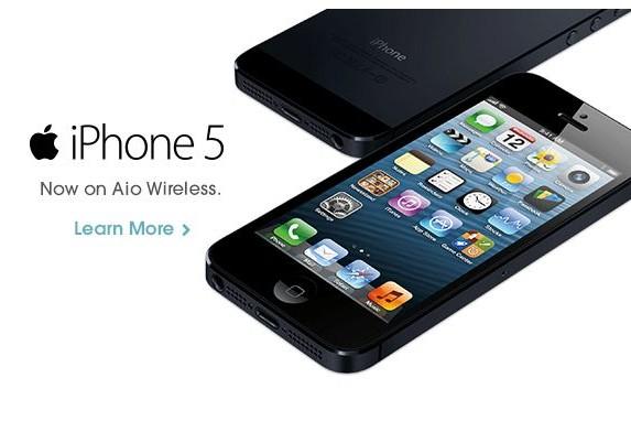 AIO Wireless iPhone 5