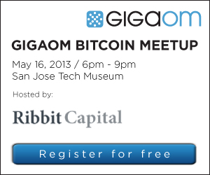 GigaOM meet up BitCoin
