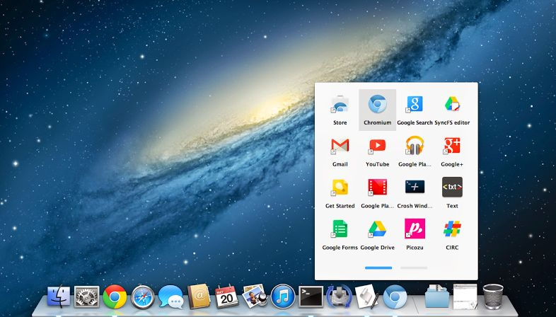 Chrome App Launcher Mac
