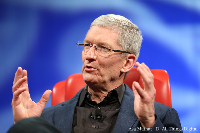 Apple Tim Cook D11 Credit: Asa Mathat/D: All Things Digital