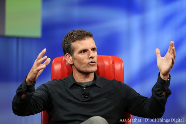 Motorola CEO Dennis Woodside D11 Credit: Asa Mathat/D: All Things Digital