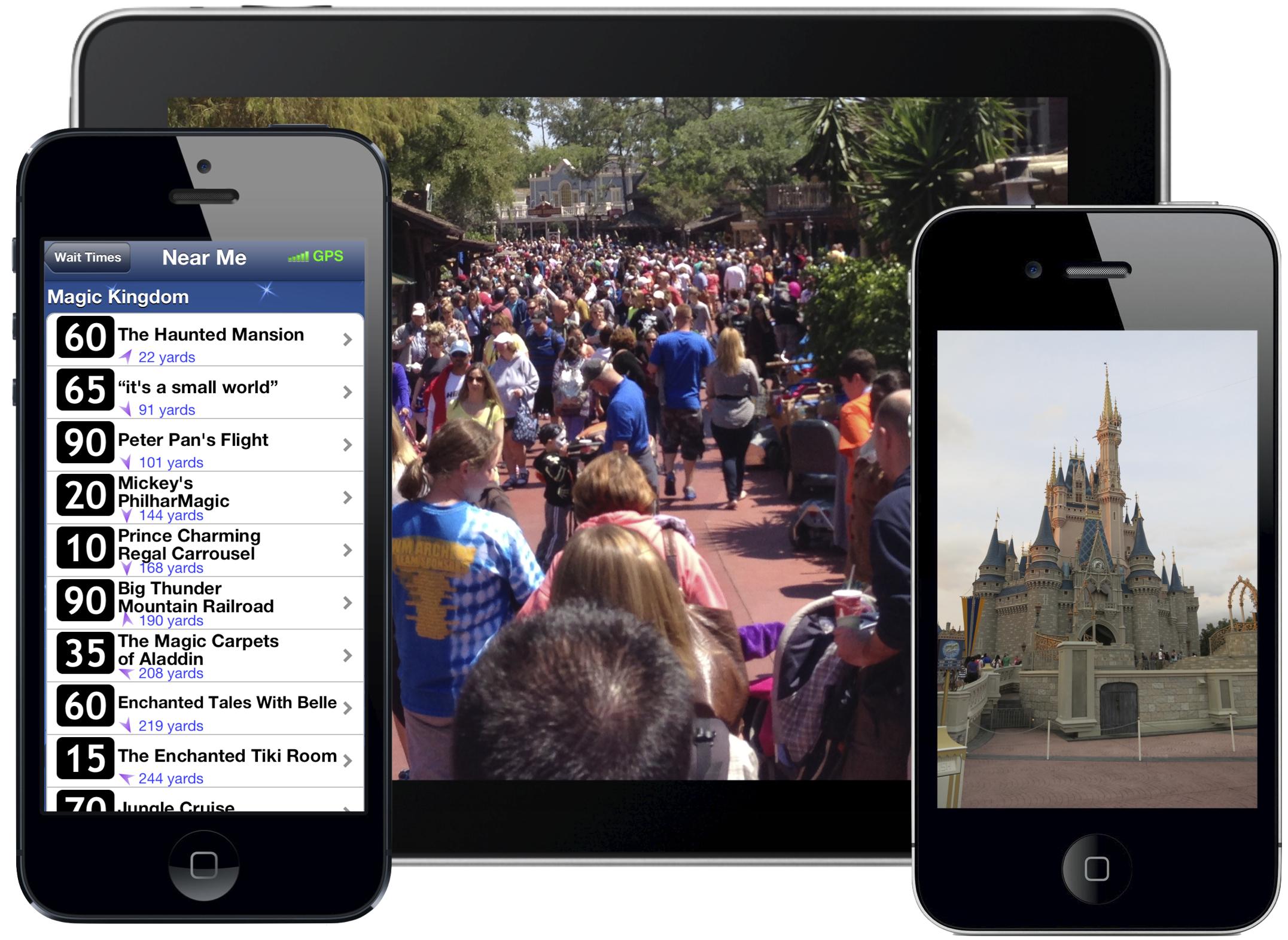 Disney Resort Apps