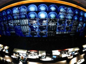 An AT&T network operations center. How much transparency is enough?