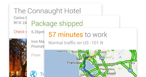 Google Now already keeps track of your packages and your commute - so why not your home appliances?