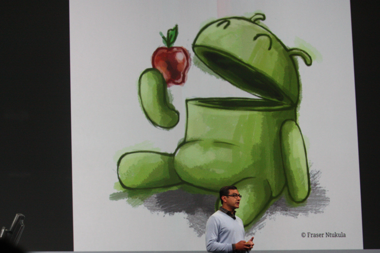 Google Apple Vic Gundotra Google I/O 2011