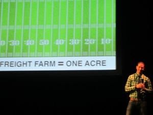 Freight Farms CEO Brad McNamara.