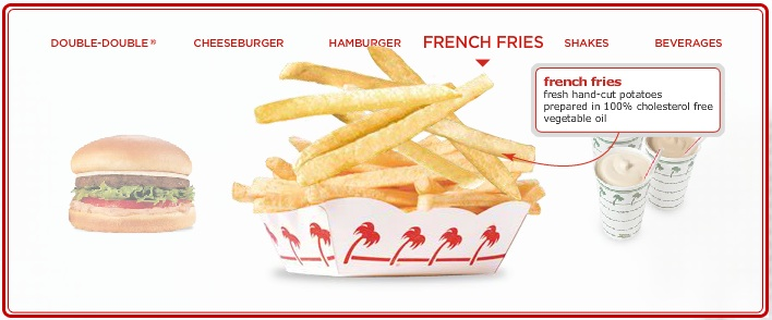 Yes, In-N-Out is delicious -- and that's about the entire menu.