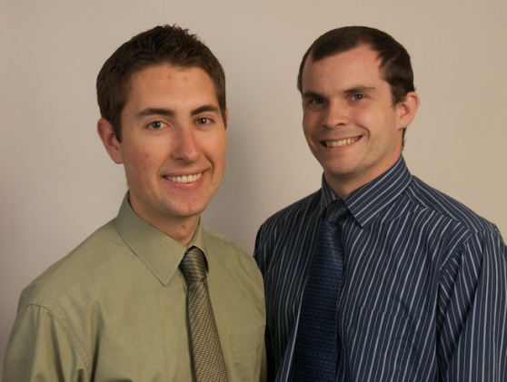 Firebase founders James Tamplin, left, and Andrew Lee. Source: Firebase