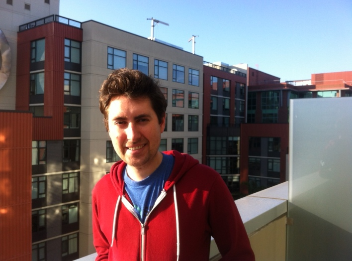 James Tamplin, co-founder and CEO of Firebase, at the company's San Francisco office