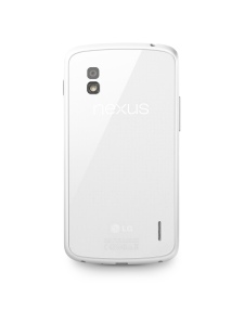 LG Nexus 4 White back
